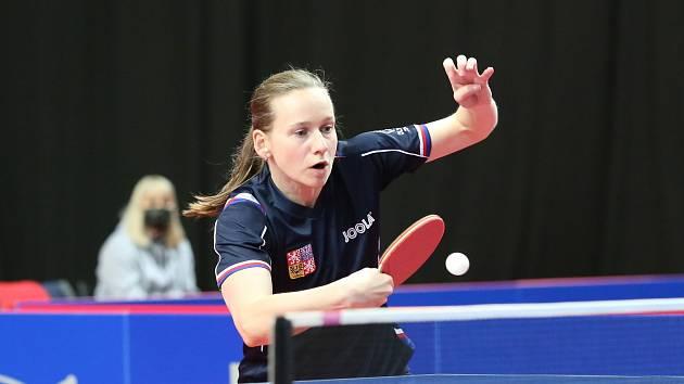 Stolní tenistka Hana Matelová se díky postavení v žebříčku ITTF kvalifikovala na olympiádu do Tokia.