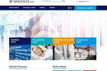 Nemocnice v Kroměříži má nový web, nabízí i virtuální prohlídku