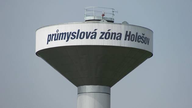Průmyslová zóna Holešov. Ilustrační foto