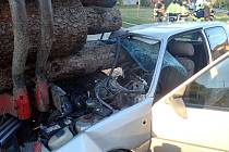 Vážná nehoda v Prusinovicích
