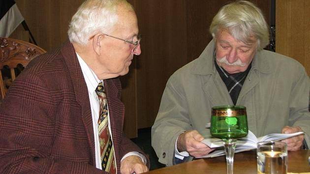 Pavel Hejcman na autogramiádě v roce 2008
