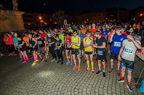 Noční běh v Kroměříži 2018