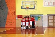 Druholigoví basketbalisté TJ Slavia Kroměříž