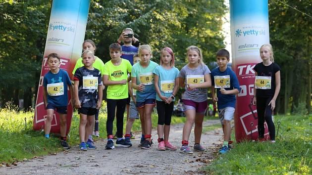 T-mobile Olympijský běh byl v Holešově zalitý sluncem.