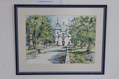 Karel Bubílek je rodák z Holešova, v Bystřici pod Hostýnem se však usadil už před lety. Své obrazy nyní vystavuje na tamním zámku.