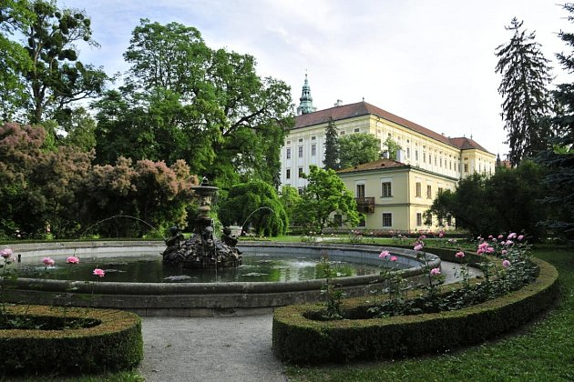Podzámecká zahrada.