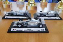Mezinárodní mistrovství Micro RC aut, které doprovázela i výstava modelů letadel, se o prvním únorovém víkendu konalo v prostorách Společenského domu Sušil v Bystřici pod Hostýnem.