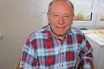 Josef Mitek ze Zdounek je už dlouholetým členem dechové hudby Zdounečanka.