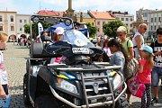 V pátek 25. května 2018 se na Velkém náměstí v Kroměříži konal Den s policií ČR. Nejen na děti čekala spousta zajímavých zážitků a ukázek.