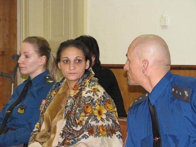 Ingrid Biháriová v září 2009 v Holešově údajně s komplici napadla důchodce..