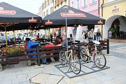 Turistická atrakce Bicyklo kino v Kroměříži vydržela v provozu asi tři týdny. Radnice uvažovala o její opravě, ta by byla ale tak náročná, že by ji před koncem turistické sezóny nestihli dokončit.