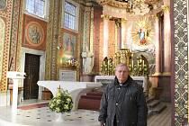 Jiří Šolc, farář na Svatém Hostýně.