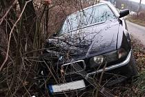 Dopravní nehoda u Jestřabic.
