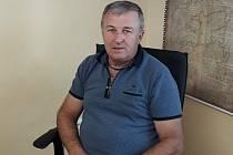 Starosta Kostelan Jan Petřík.