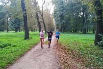 T-mobile Olympijský běh v Holešově.