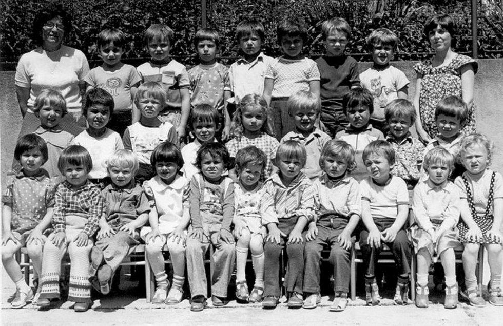 DĚTI Z MATEŘSKÉ ŠKOLY 1981. Mateřská škola v Sulimově fungovala v 70. a 80. letech, a to v budově bývalé základní školy. V 90. letech byla však její provoz ukončen.
