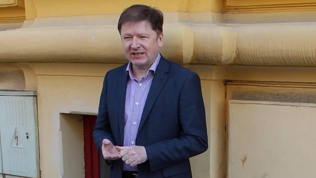 Starosta Kroměříže Jaroslav Němec