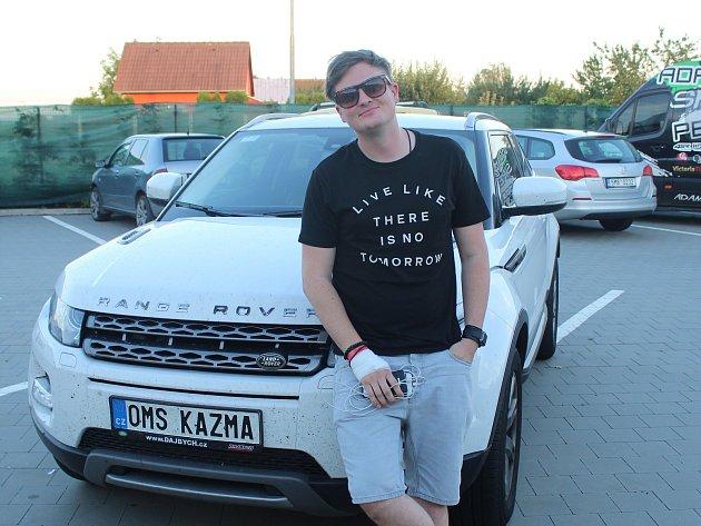 Přestože žije Kazma už roky v Praze, na svou rodnou Moravu nezapomněl a rád se sem vrací.