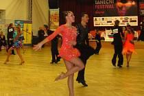V Kroměříži se konal osmý ročník Kroměřížského tanečního festivalu, účastnili se ho nejlepší taneční páry z celé republiky.