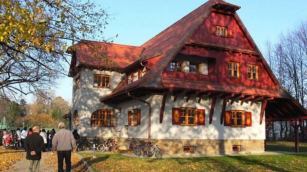 sídlo Střediska volného času Včelín v Bystřici pod Hostýnem.