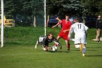 Pokud udrží Michal Gremlica v zápase se Skašticemi čisté konto do 61. minuty překoná duo Michalec – Šimčík.