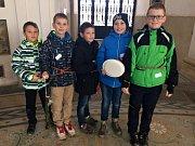 Další části projektu Národního památkového ústavu se v minulých týdnech zúčastnili žáci páté třídy Církevní ZŠ v Kroměříži pod lektorským vedením Petra Hudce a Gabriely Čechové.