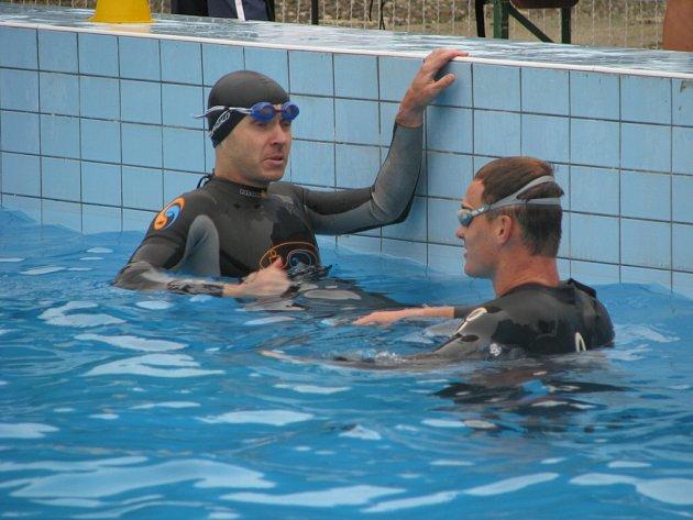 Na koupališti v Morkovicích se konal devátý ročník olympijského triatlonu Morkoman.