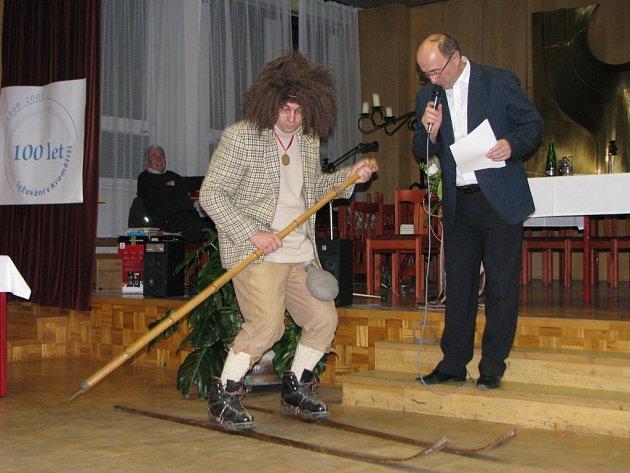 Sto let lyžování v Kroměříži.