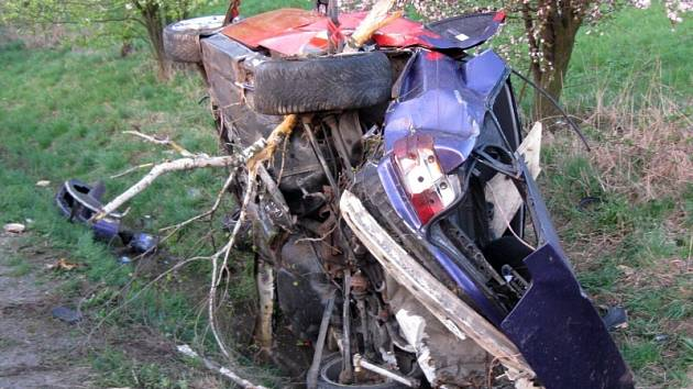 Nehoda u Tučap.