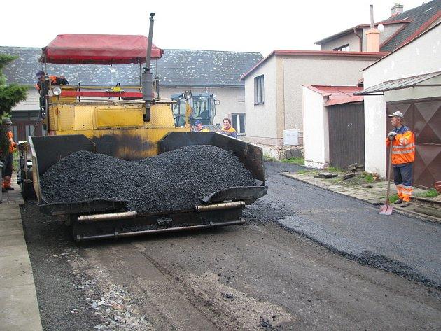 Na nové silnice si Prusinovice vzaly více než třímilionový úvěr.