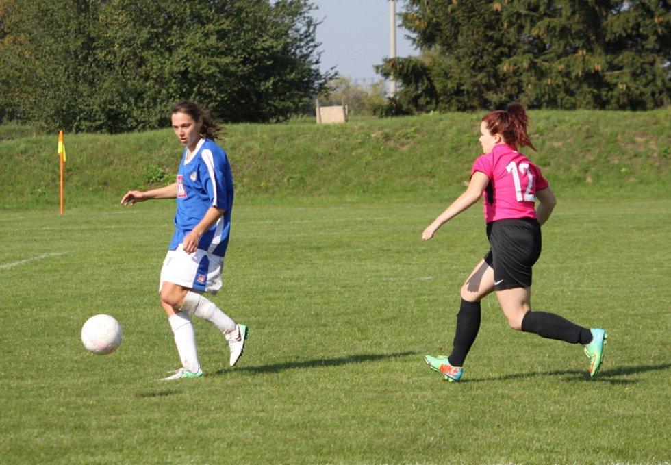 krajský fotbalový přebor žen Říkovice - Holešovské holky