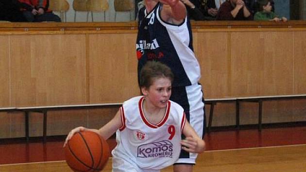 Mladí basketbalisté Slavie Kroměříž byli doma úspěšní.