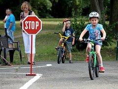 V Americkém parku v Holešově měli Den na kole.