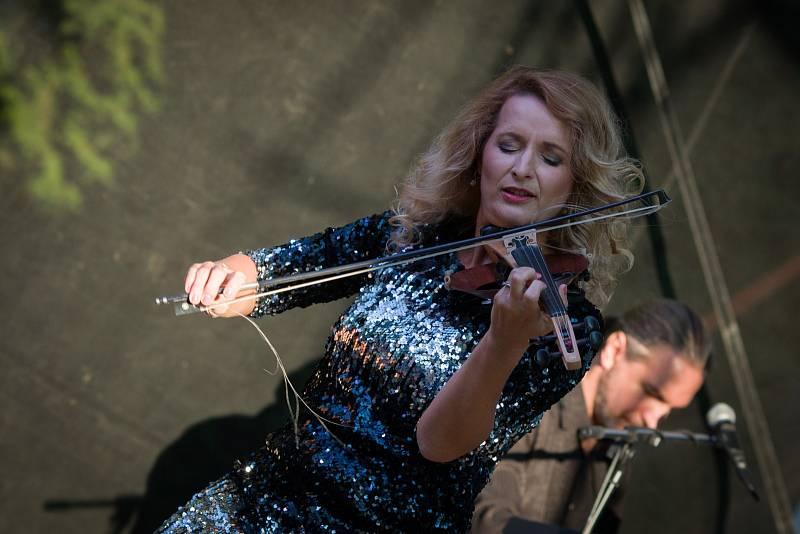 Koncert Inflagranti v Hulíně.