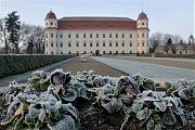 Zámek v Holešově. Ilustrační foto.