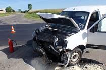 Dopravní nehoda u Dřínova.