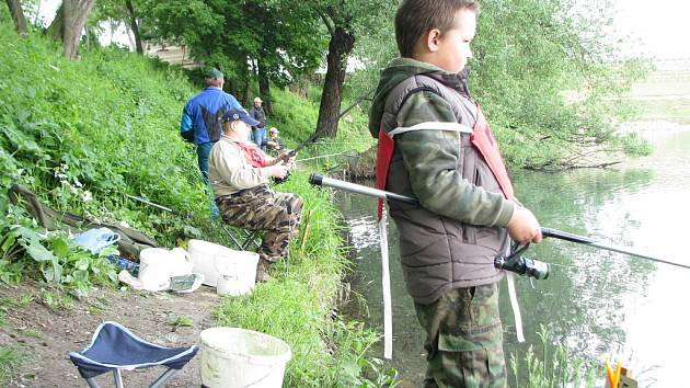 V Kroměříži se 24. 5. 2008 konaly Rybářské závody mládeže.