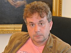 Na snímku ředitel Městského kulturního střediska Holešov Pavel Chmelík