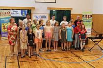 Děti si ve středisku volného času TYMY převzali ocenění Talentík 2019.