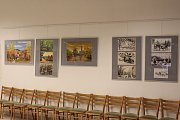 Výstava prací kroměřížského umělce Jana Konečného bude foyer tamního Domu kultury zdobit až do 23. března.