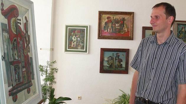 V kroměřížském Arcibiskupském zámku vystavuje do 4. září 2011 jeden z nejvýznamnějších českých malířů a ilustrátorů Karel Franta. Vernisáž se konala ve čtvrtek 4. srpna 2011.