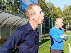 Bývalý obránce Mladé Boleslavi Marián Palát trénuje fotbalisty Bystřici pod Hostýnem.