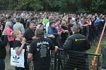 V areálu na Kamínkách nedaleko Roštína se druhý srpnový víkend už po dvaadvacáté konaly Slavnosti piva.