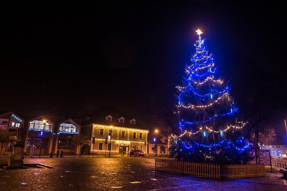Vánoční strom 2020 v Brumově-Bylnici