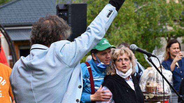 Koncert Standy Hložka v Domově Barborka v Kroměříži