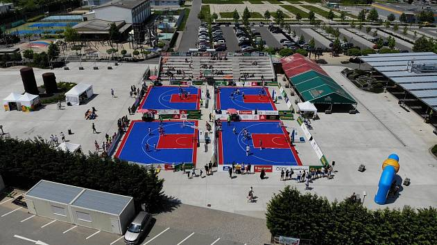 basketbalový turnaj Chance 3x3 v Kroměříži 2020