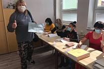 Volby v Hulíně.