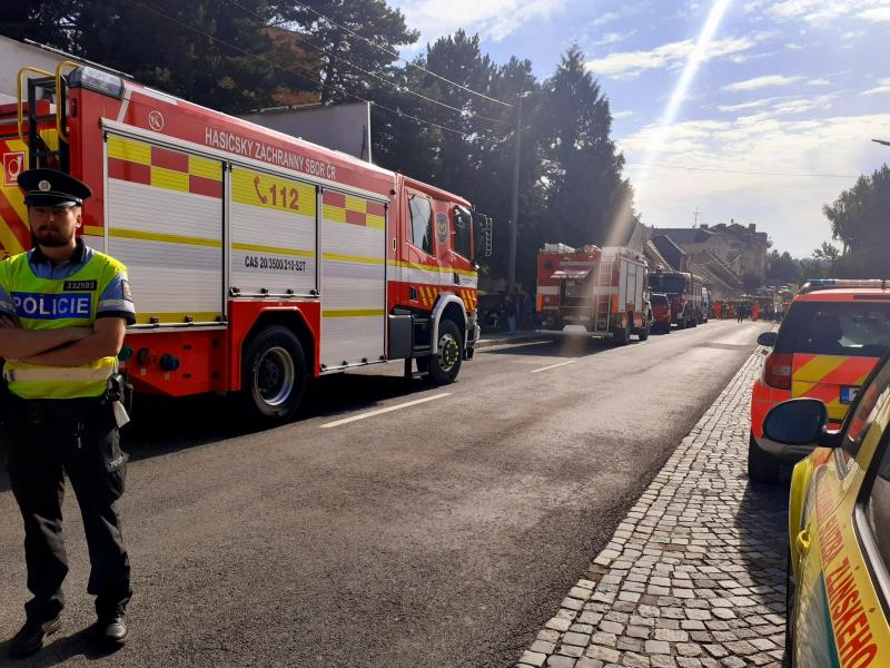 k výbuchu plynu došlo ve středu po poledni v rodinném domě v Koryčanech na Kroměřížsku