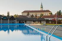 Koupaliště Bajda v Kroměříži