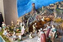 Jedinečný mechanický betlém, který zdobil od roku 1959 kostel svaté Kateřiny v Prusinovicích, je až do 6. ledna k vidění v Muzeu Kroměřížska.